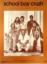 Average White Band-School Boy Crush-1975 Sheet Music-Original USA issue-Rare!