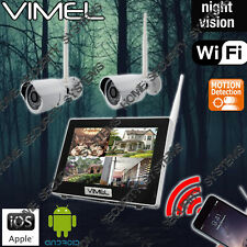 DIY Home Security System Cameras IP House Farm Motion Detection Remote View