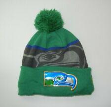 New Era SEATTLE SEAHAWKS Green Warm NFL WINTER BEANIE Ski Hat Team Cap ONE SIZE