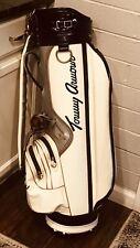 Vintage Tommy Armour Golf Academy Tufhorse White Blue Silver Golf Bag Usa