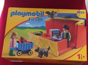 Playmobil 123 Take Along Market Stall 9123 NEW