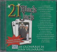 Los Cachoros De Juan Villareal 21 Black Jack CD New Nuevo sealed SELLADO