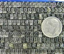 Vintage Metal Letterpress Print Type Atf 414 14pt Wedding Text Mn73 9