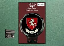 Royale Classic Car Badge & Bar Clip COUNTY OF KENT B1.1150