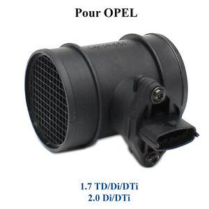 Debitmetre pour Opel 1,7 TD 2,0 DI DTI 16V = 253715 7.22701.05.0 0281002180