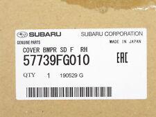 Genuine OEM Subaru 57739FG010 Passenger Bumper Corner Cover