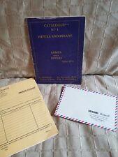 catalogue impexa andorrane armes 1976 creacions Rossell Andorre la Vella