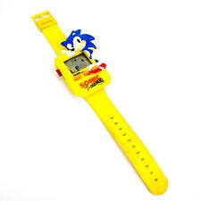 Vintage LCD 1991 Sonic The Hedgehog Bracelet Montre par Tiger Electronics