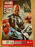 Marvel Now Point One #1  Marvel Comics NM HIGH GRADE  (S207)