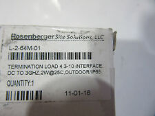 Commscope Andrew T-2-64M-01 Termination 2W, Dc-3Ghz New! in Factory Box