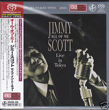 """Jimmy Scott All Of Me Live in Tokyo"" Japan Venus Records Audiophile DSD SACD CD"