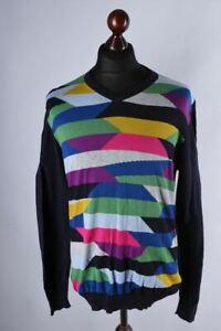 Desigual Multicolored Classic Jumper Size L