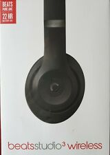 Beats by Dr. Dre MQ562PA Studio3 Over the Head Wireless Headphones - Matte Black