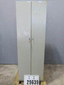 Spind Stahlspind Umkleidespind Kleiderschrank Stahlschrank Garderobe #29639