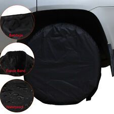 300D Set Of 4 Wheel Tire Covers For RV Trailer Camper Car Truck And Motor Home