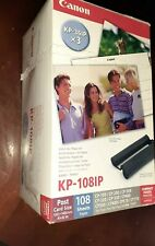 """Canon KP-108IP Color Ink (KP-36IP x 3) With 4"""" x 6"""" Paper 108 Sheets - NEW"""
