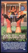 DON'T TELL MOM THE BABYSITTERS DEAD 1991 RARE Australian Daybill Movie Poster