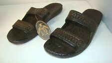 Pali Hawaii Jesus Jandal Platform Sandals Size 12 Brown NWT