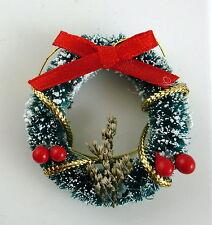 Miniatura Para Casa De Muñecas 1:12 Christmas Accesorio Adornado Nieve