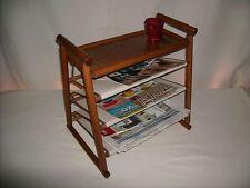 Rattan Zeitungsständer Regal neu in der Farbe braun