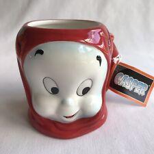 Casper the Friendly Ghost Halloween Ceramic Mug Lil Devil 4 Inches Tall