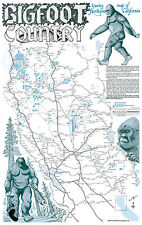 BIGFOOT Country Touring Map of Northern California