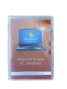 Windows 7 Professional DVD Original 32 Bit