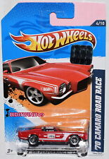 HOT WHEELS 2012 HW PERFORMANCE '70 CAMARO ROAD RACE RED FACTORY SEALED