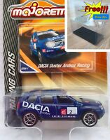 Majorette Dacia Duster Andros Racing Blue Diecast 1:64 225A  Free Display Box