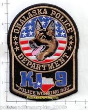 Texas - Onalaska K-9 TX Police Dept Patch