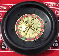 12 INCH ROULETTE WHEEL COMPLETE WITH BALLS - BRAND NEW