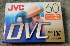 JVC Mini DVC tapes 90mins (DVM60ME)