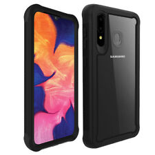 For Samsung Galaxy A20S Shockproof Hybrid TPU Bumper Clear Back Phone Case Cover