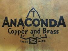 """Anaconda Bronze Welding Rod ( Low Fuming ) Brazing  """" Old School """"  1/16 x 3 ft"""