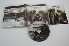PLAY STATION 3 PS3 THE DARKNESS II 2 COMPLETO PAL ESPAÑA