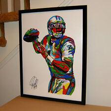 Cam Newton, Carolina Panthers, Quarterback, Football, Sports, 18x24 POSTER w/COA