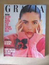 GRAZIA Rivista di moda n°2500 1989 [VL17] con Monica Bellucci Rarissimo!