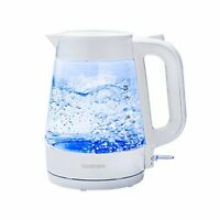 Quality Goodmans Innovative Illuminating Glass Kettle with 1.7L Capacity - White