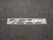 Chrome Trunk Number Letters Emblem Emblems Badge Badges Sticker for BMW 750Li