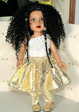 """African American Doll  18"""""""