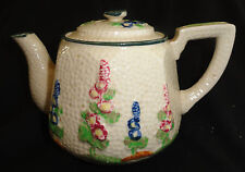 Pretty Vintage DERMAY Fifth Avenue Tea Pot, was a Bath Powder Container 1920's