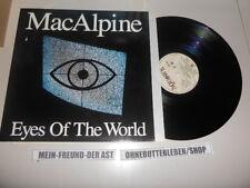 LP Rock Mac Alpine - Eyes Of The World (10 Song) VERTIGO / SQUAWK