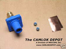 Cooper Camlok #2 - 4/0 FEMALE BLUE Panel Mount
