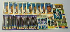 Gary Sheffield RC Lot of (x31) Baseball Cards 1989 Topps, Fleer, Bowman, Score