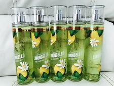 5 Bath & Body Works Limoncello body mist spray 8.4 Oz Free Ship