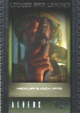 2018 Upper Deck Aliens Locked & Loaded Trading Card #ABA-6 Heckler & Koch VP70