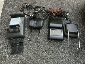 MERCEDES W221 Facelift Rear Entertainment System. Genuine Factory Fit Equipment