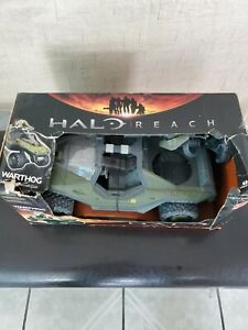 2010 McFarlane Toys HALO REACH Deluxe UNSC M12 WARTHOG Spartan Vehicle NEW