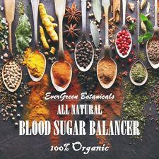 Blood Sugar Balancer Capsules 100% NON-GMO All Natural Herbs