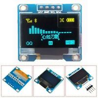 "128X64 0,96 ""OLED I2C IIC Serielle LCD LED SSD Für Display Modul Clip"